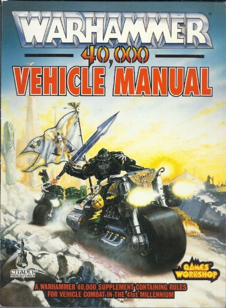 Warhammer 40,000 Vehicle Manual 1992